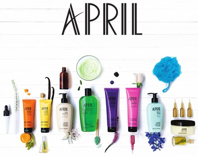 April Gel Douche Monoi Ylang